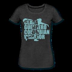 Women's Tri-Blend Performance T-Shirt by Clara Guerrero