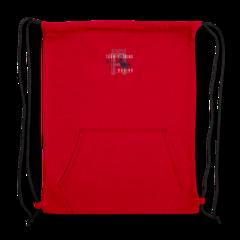 Sweatshirt Cinch Bag by Jamel Herring