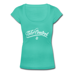 Women's Scoop Neck T-Shirt by Jordan Poyer