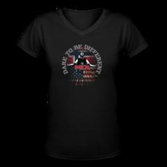 Women's V-Neck T-Shirt by Mikkel Diskerud