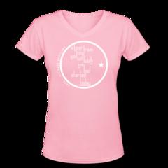 Women's V-Neck T-Shirt by Egan Inoue