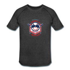 Men's Tri-Blend Performance T-Shirt by Keep On Playing