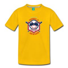 Little Boys' Premium T-Shirt by Keep On Playing