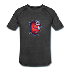Men's Tri-Blend Performance T-Shirt by Micah Johnson