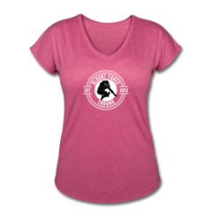 Women's V-Neck Tri-Blend T-Shirt by LeGarrette Blount