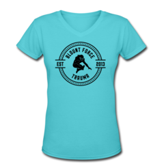 Women's V-Neck T-Shirt by LeGarrette Blount
