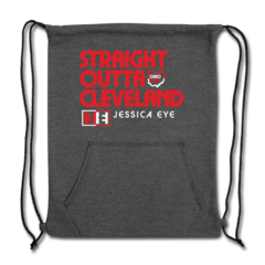 Sweatshirt Cinch Bag by Jessica Eye