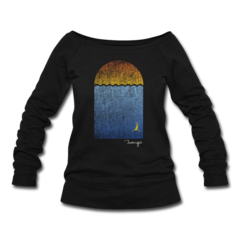 Women's Wideneck Sweatshirt by William Trubridge